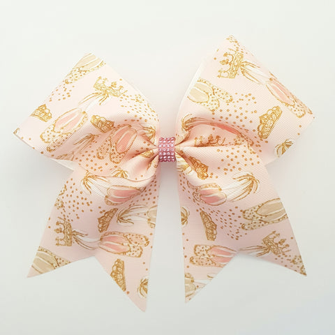 "Ballerina Shoes ""O.T.T. CHEER"" Style Bow"