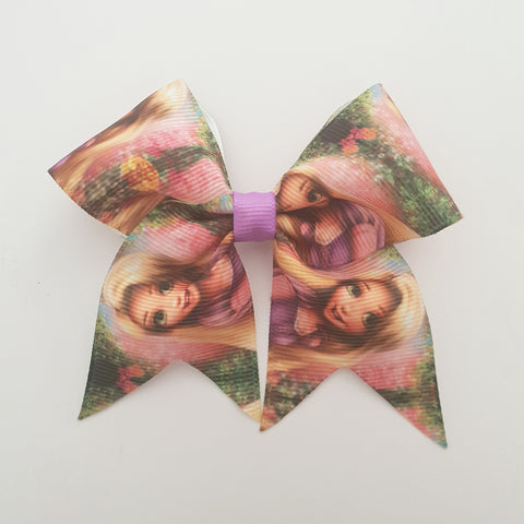 Tangled MINI Cheer Bow