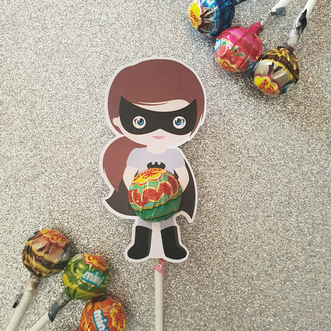 Batwoman - Lollipop Holders
