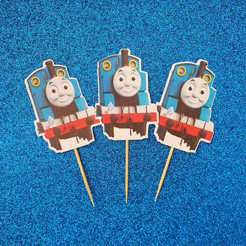 Thomas the Tank Engine - Cupcake Toppers