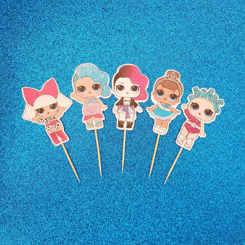 LOL Doll - Cupcake Toppers