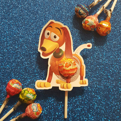 Slinky Toy Story - Lollipop Holders
