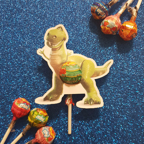 Rex Toy Story - Lollipop Holders