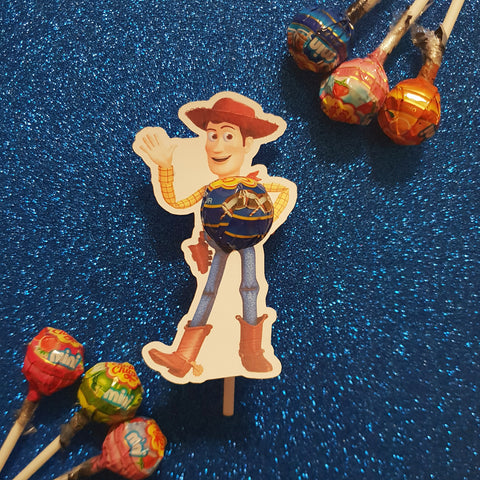Woody Toy Story - Lollipop Holders
