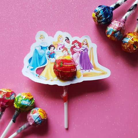 Princesses - Lollipop Holders