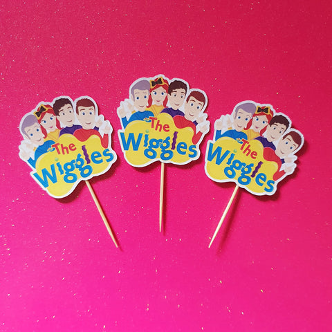 Wiggles - Cupcake Toppers