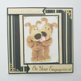Boofle Engagement Card
