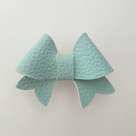 "Baby Blue ""BELLA"" Style Bow"