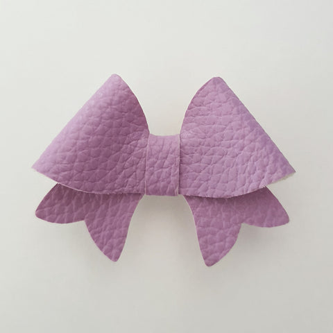 "Light Purple ""BELLA"" Style Bow"