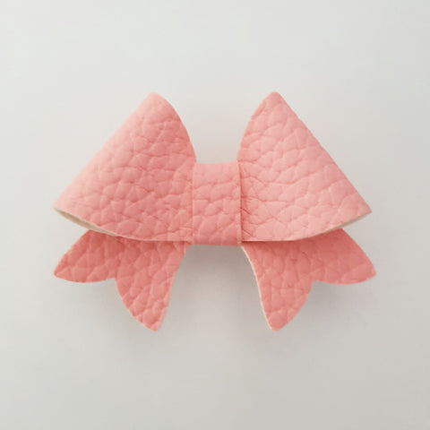 "Pink ""BELLA"" Style Bow"