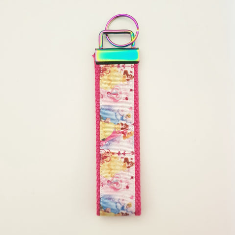 Princesses - Small Key Fob