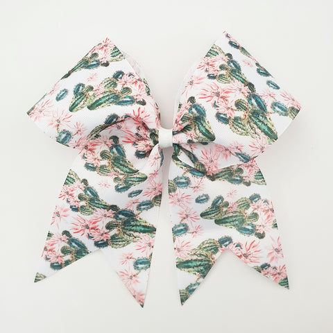 "Cactus ""O.T.T. CHEER"" Style Bow"