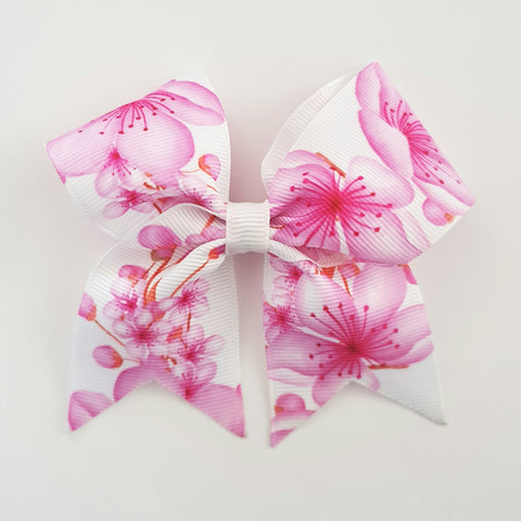 Cherry Blossoms - MINI Cheer Bow