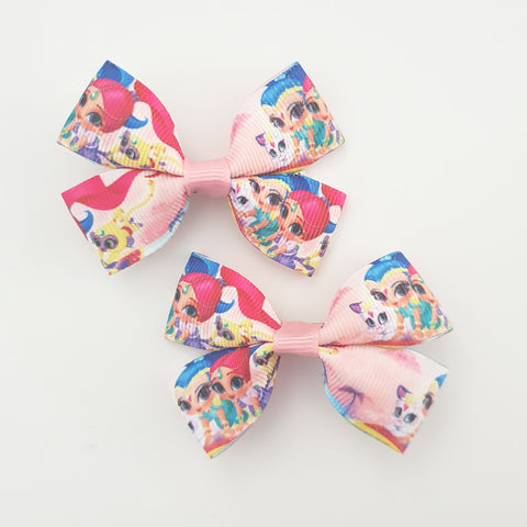 Shimmer n Shine RIBBON HAIR CLIPS