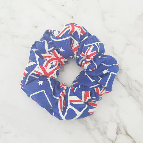 Australian Flag - Scrunchie