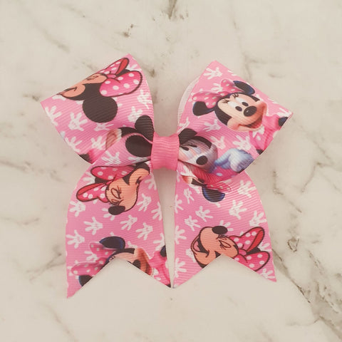 Minnie Mouse MINI Cheer Bow