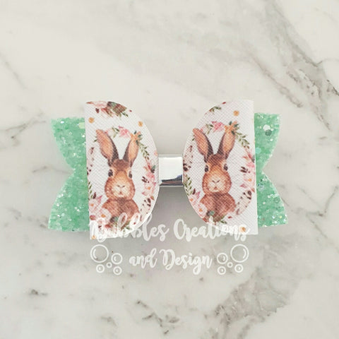 "Bunny - Mint Green ""Maria"" Style Bow"
