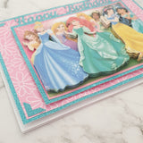 Princesses - Birthday Card