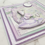 Mother's Day Card (mauve floral)