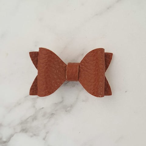 "Brown ""EVIE"" Style Bow"