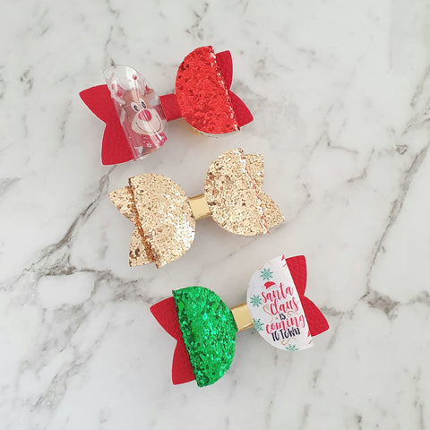 Christmas Trio Pack - Mini Maria Bows