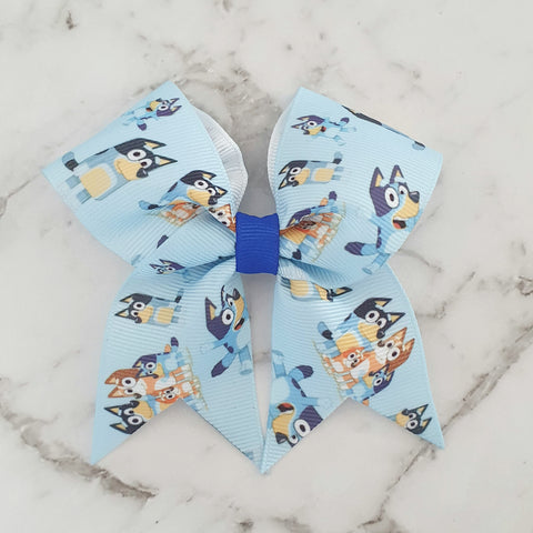 Bluey - MINI Cheer Bow