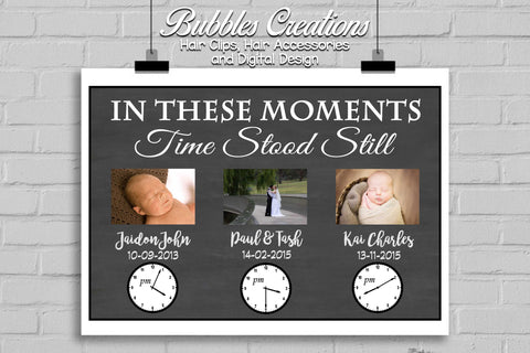 In These Moments Design! Photo Collage Digital Design