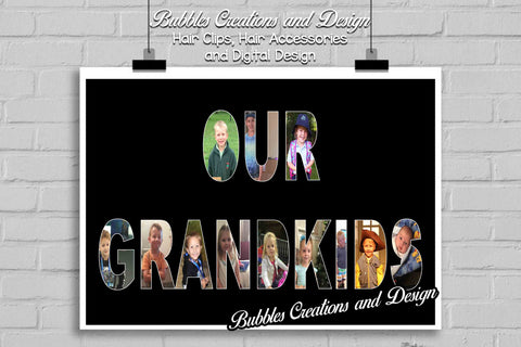 Customisable Name Design! Photo Collage Digital Design