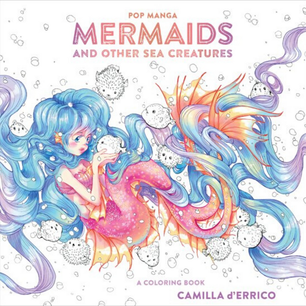 Mermaids and sea creatures