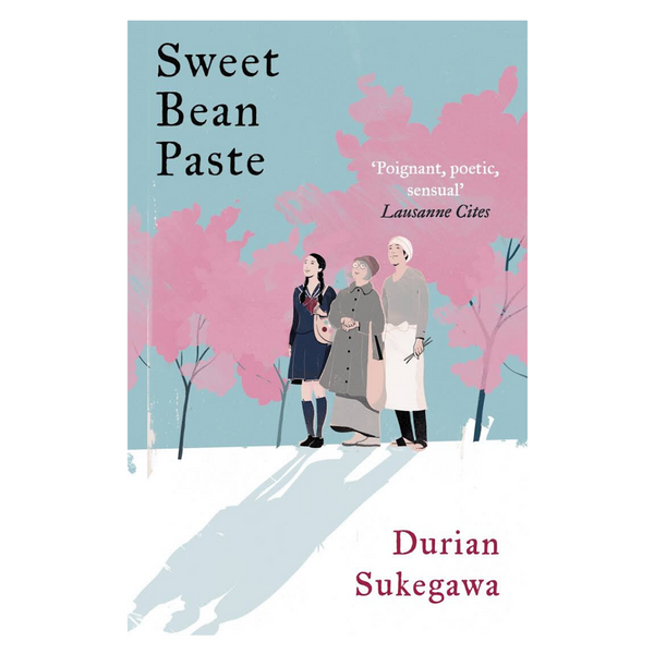 Sweet bean paste Japans boek