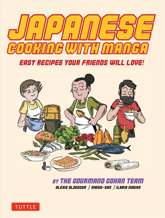 Japanese cooking with manga
