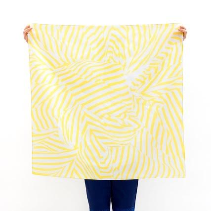 Furoshiki stripe geel by Link Collective