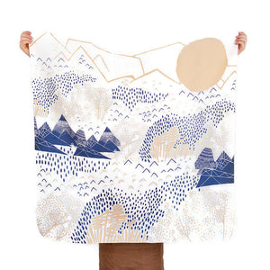 Furoshiki mountain blossom by Link Collective
