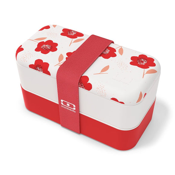 monbento original  bentobox poppy
