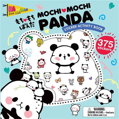 Mochi Mochi Panda sticker activity book