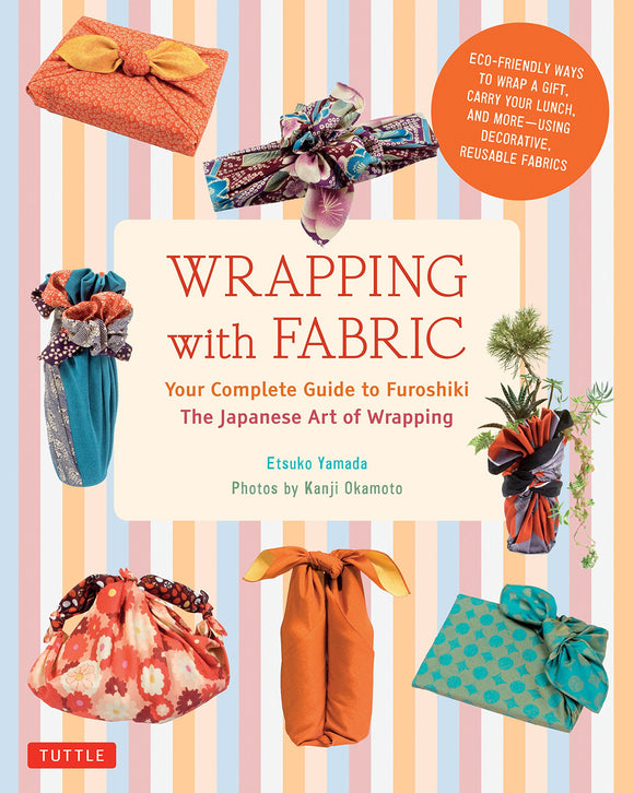 Wrapping with fabric furoshiki boek