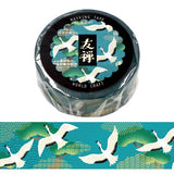 washi tape kraanvogel