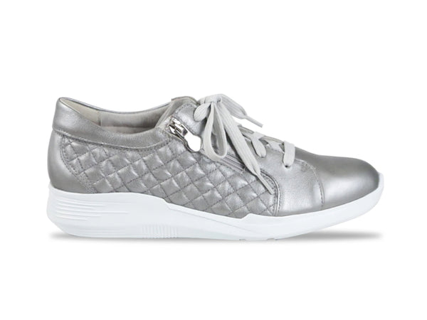 EMMIE GREY METALLIC