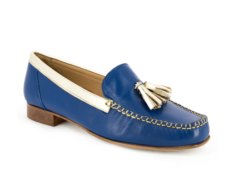 PEGGIE ROYAL BLUE~GOLD