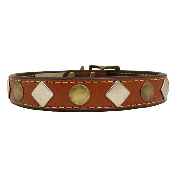 Heirloom Studded Dog Collar - Flying Dog Collars