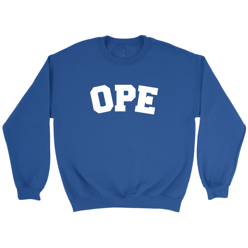 Adult OPE Crewneck Sweatshirt