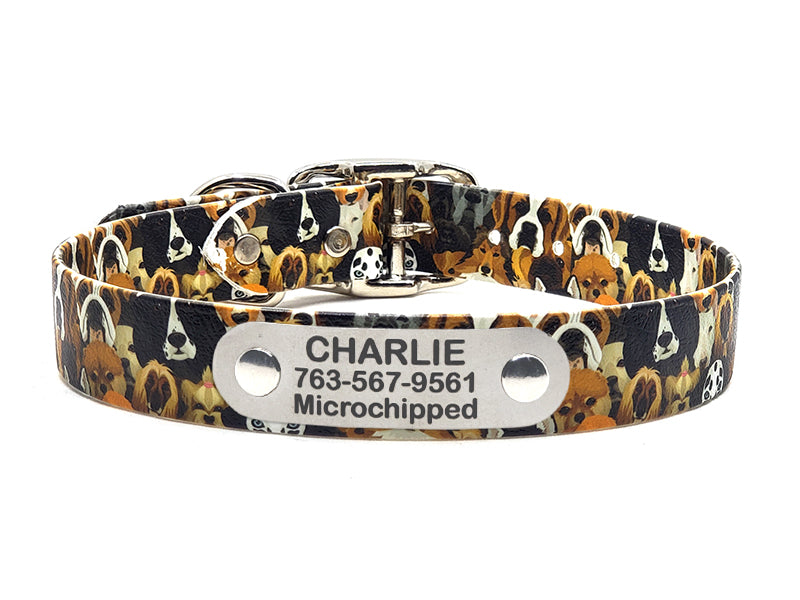 All The Dogs Waterproof Collar