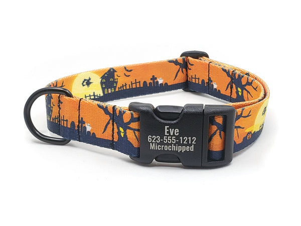 ALL HALLOWS EVE | DOG COLLAR