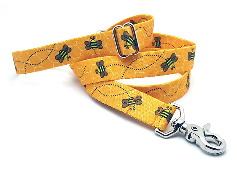 Busy Bees Polyester Adjustable Handle Leash