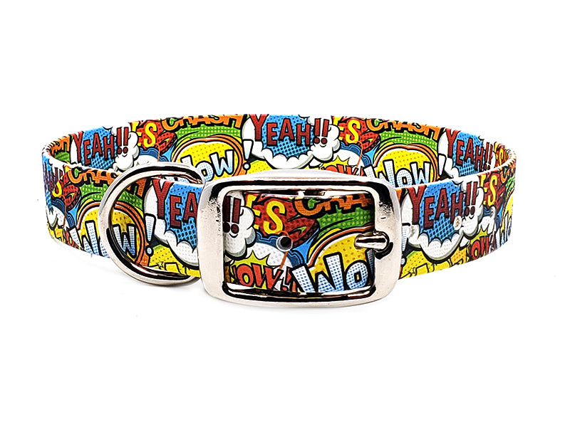 Comic Pop Waterproof Collar