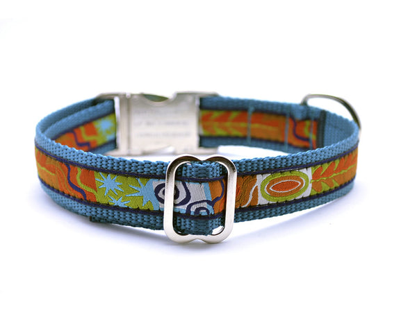 Contempo Dog Collar with Personalized Buckle - Flying Dog Collars