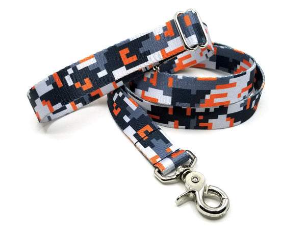Digital Camo Polyester Webbing Adjustable Handle Leash
