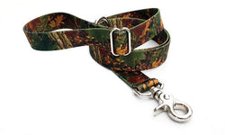Forest Camo Polyester Adjustable Handle Leash