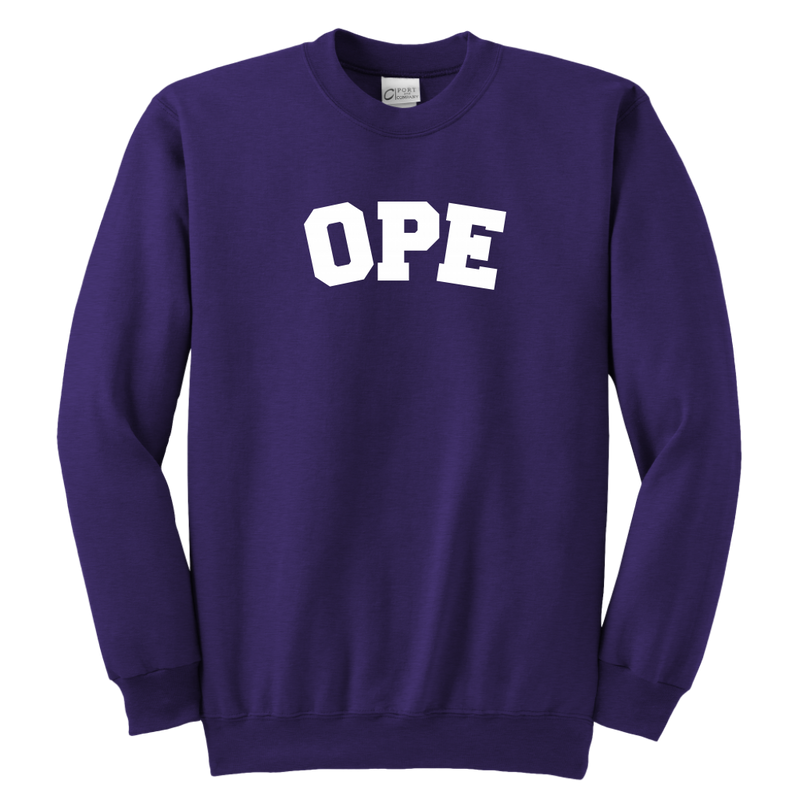 OPE Youth Crewneck