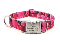 ROMANTIC HEARTS | DOG COLLAR